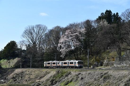 2020年4月11日撮影 飯田線 回送 313系