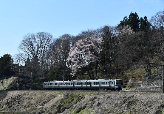 2020年4月11日撮影 飯田線 210M 211系