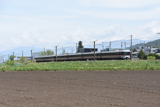 2020年5月17日撮影 中央西線383系 WVしなの8号