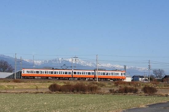 2020年11月22日 アルピコ交通 3000系 モハ10復活塗装色
