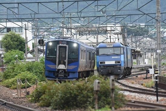 2020年7月25日撮影 しなの鉄道 SR-1系とEH200