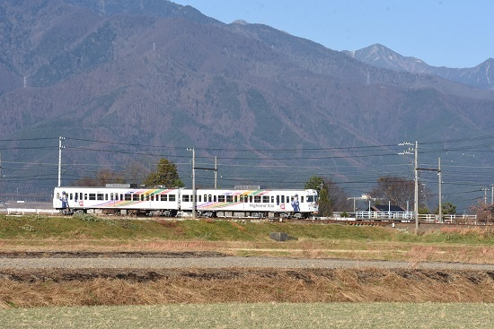 2020年11月22日 アルピコ交通 3000系 なぎさTRAIN