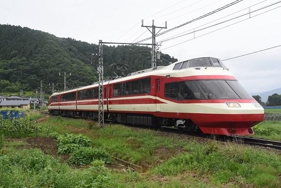 2020年7月25日撮影 長野電鉄1000系 「ゆけむり」号