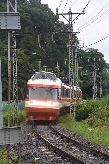 2020年7月25日撮影 長野電鉄1000系 「ゆけむり ~のんびり号~」号