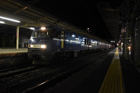 2020年5月20日撮影 東線貨物89レ EH200-12号機