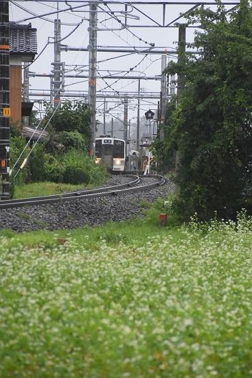 2020年7月26日撮影 飯田線 221M 211系代走 宮田駅