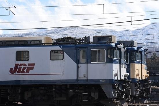 2020年3月15日撮影 南松本にて、雪山をバックに