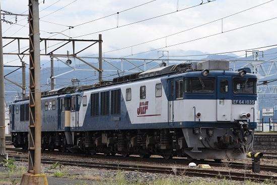 2020年5月23日 南松本にて EF64-1035号機 更新色