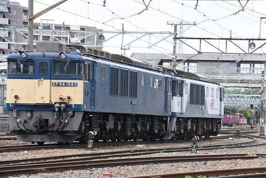 2020年5月23日 南松本にて EF64-1043号機 原色