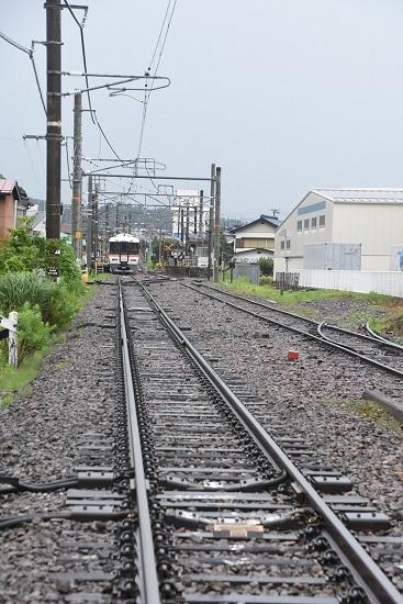 2020年7月26日撮影 飯田線沢渡駅後方より373系