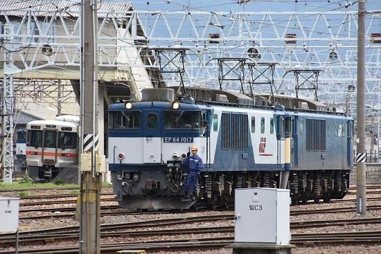 2020年5月23日撮影 南松本にて 西線貨物8084レ 機回し