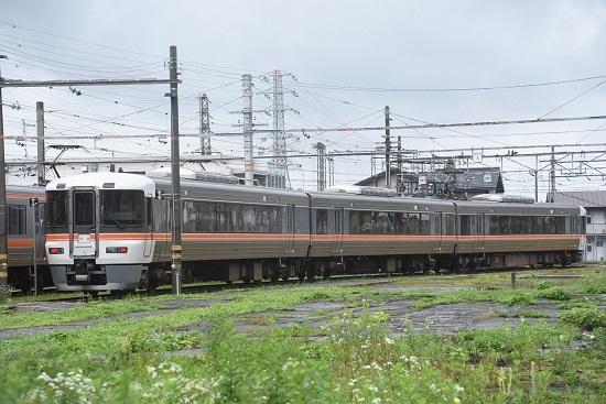 2020年7月26日撮影 伊那松島運輸区の373系