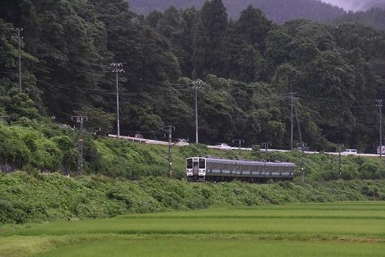 2020年7月26日撮影 飯田線 218M 211系代走 伊那新町-羽場