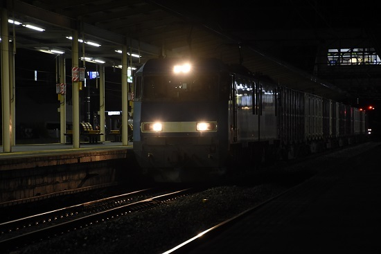 2020年9月15日撮影 塩尻駅にて 東線貨物89レ