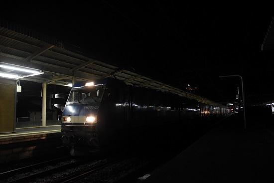 2020年9月15日撮影 塩尻駅にて 東線貨物89レ EH200-23号機