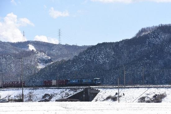 2020年3月15日撮影 東線貨物2083レ EH200-9号機