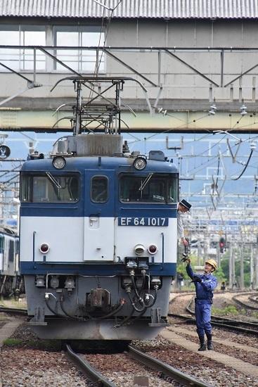 2020年5月23日撮影 南松本にて 西線貨物8084レ 機回し 無線機返却