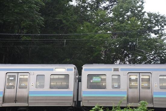 2020年7月26日撮影 飯田線 218M 211系代走 方向幕 白幕