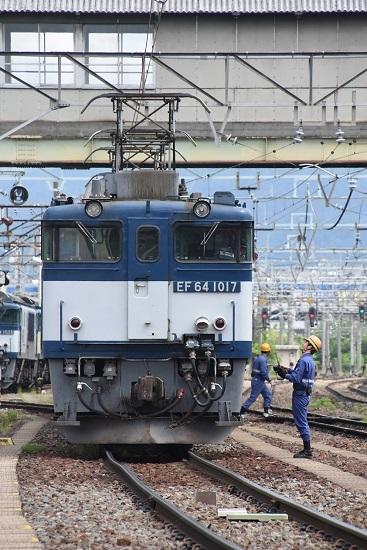 2020年5月23日撮影 南松本にて 西線貨物8084レ 誘導員さんと運転士さんの会話
