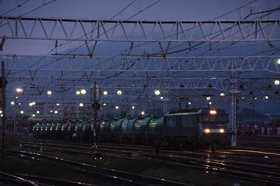 2020年8月1日撮影 南松本にて 東線貨物5461レ EH200-13号機