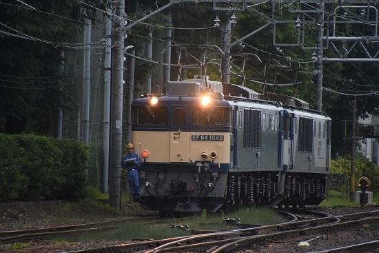 2020年8月1日撮影 南松本にてEF64-1049号機 原色