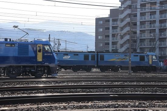 2020年3月21日撮影 南松本にて EH200-8号機