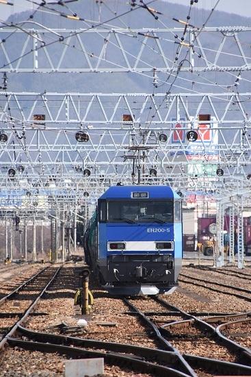 2020年3月21日撮影 南松本にて東線貨物2080レ EH200-5号機