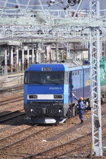2020年3月21日撮影  南松本にて東線貨物2080レ メモ渡し