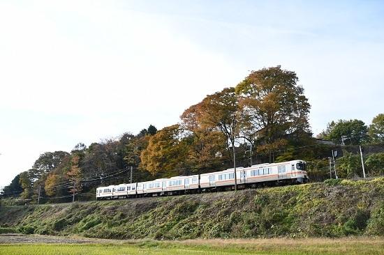 2020年11月1日撮影 飯田線 213M 313系1700番台