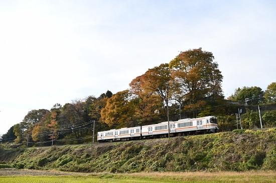 2020年11月月1日撮影 飯田線 回送 313系