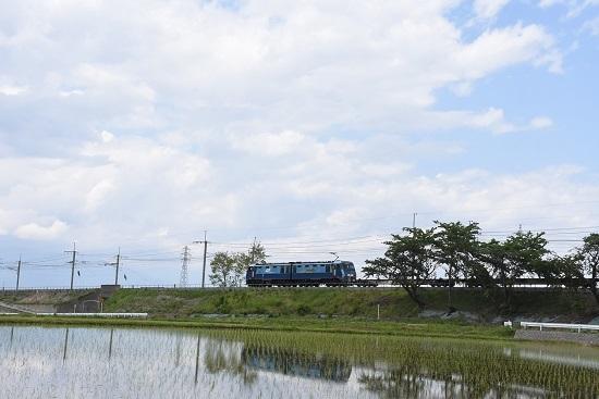 2020,年5月23日撮影 東線貨物2083レ EH200-14号機 水鏡