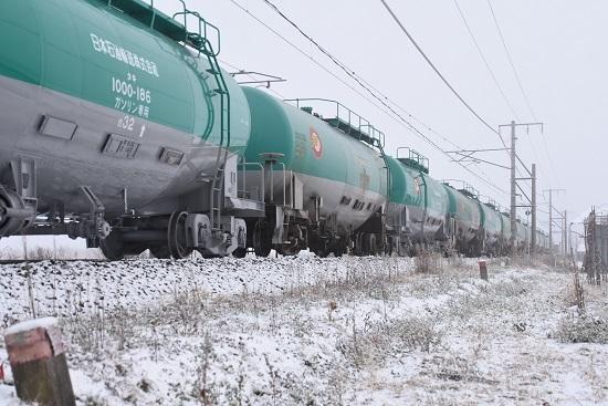 2020年12月5日撮影 西線貨物6088レ 緑タキ