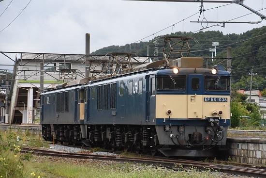 2020年9月19日撮影 篠ノ井線8467レ 聖高原駅にて