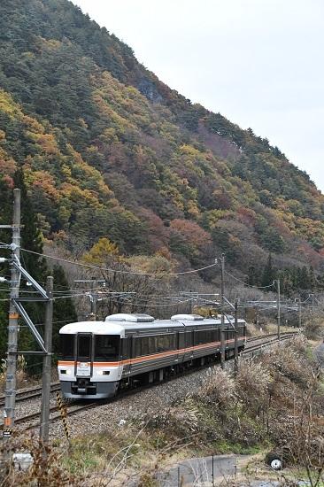 2020年11月7日撮影 中山道トレイン 原野→木曽福島 その2