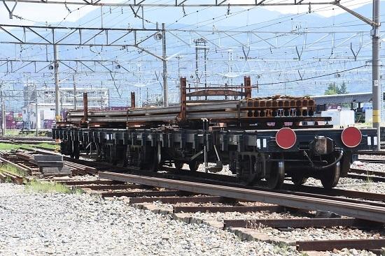 2020年5月月24日撮影 南松本にて 南松本工臨のチキ2両