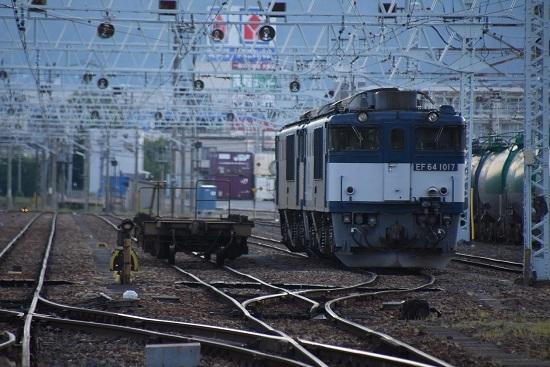 2020年5月30日撮影 南松本にて EF64-1017+1023号機