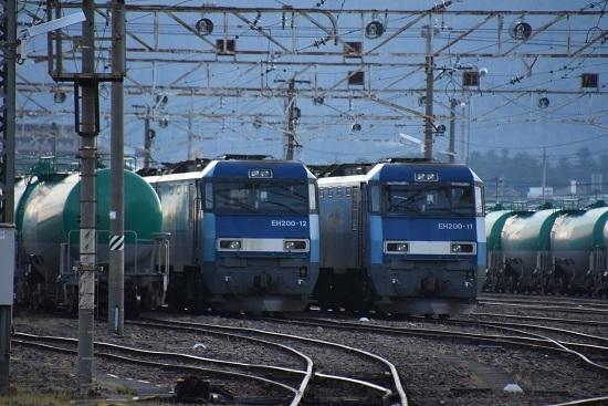 2020年5月30日撮影 南松本にて EH200-11号機と12号機