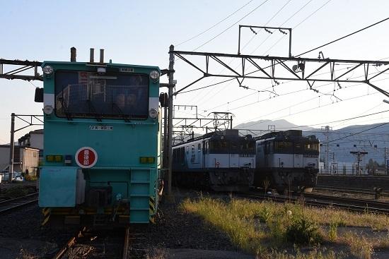 2020年5月30日撮影 南松本にて EF64-1035号機と1003号機の並び