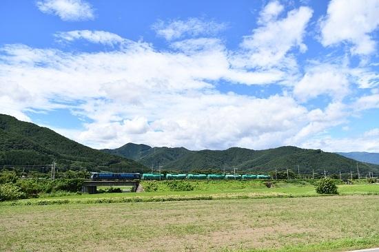 2020年8月11日撮影 東線貨物2080レ EH200-901号機 クマイチ