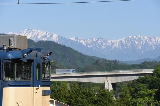 2020年5月30日撮影 篠ノ井線 8467レ 坂北駅 EF64-1043号機