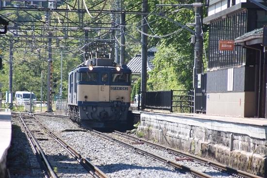 2020年5月30日撮影 篠ノ井線8467レ 姨捨駅に進入するEF64-1043号機