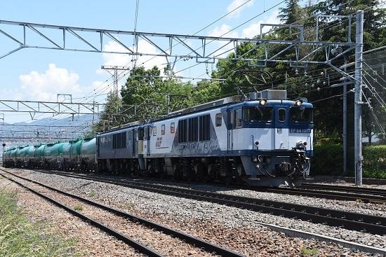 2020年5月30日撮影 西線貨物8084レ 南松本にて