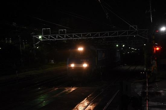 2020年9月26日撮影 南松本にて8471レ EH200-14号機
