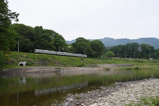 2020年5月31日撮影 飯田線と天竜川 2209M 211系 快速みすず