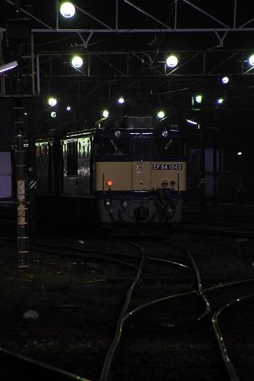 2020年9月26日撮影 南松本にて西線貨物6089レ EF64-1049号機
