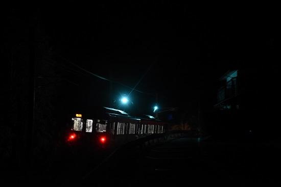 2020年12月13日撮影 辰野線は E127系による霜取り電車 スパーク