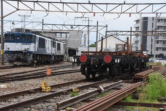 2020年5月31日撮影 南松本にて EF64-1039+1003号機とチキ