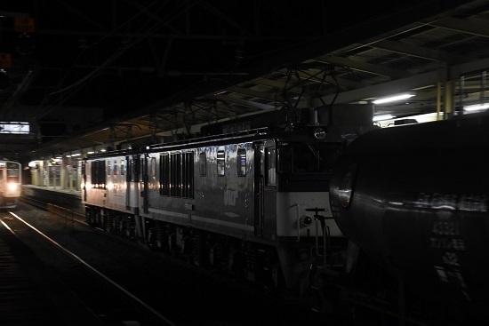 2020年4月2日撮影 塩尻駅にて西線貨物5088レ