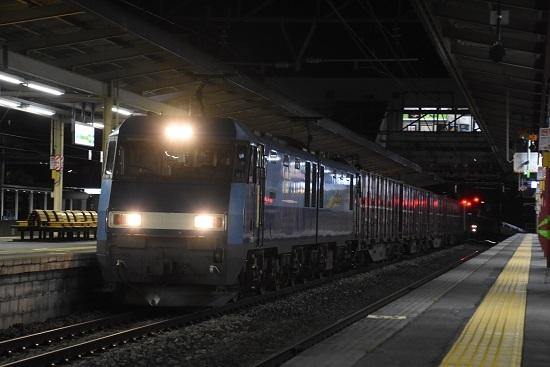 2020年4月2日撮影 塩尻駅にて東線貨物89レ