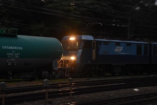 2020年8月8日撮影 南松本にて 5461レ EH200-13号機 タキの間のライト点灯